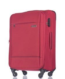Duża walizka PUCCINI EM-50720 A Parma czerwona