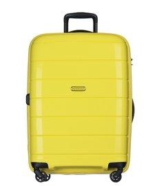 Duża walizka PUCCINI PP013 Madagaskar żółta