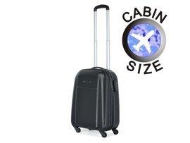 Mała walizka PUCCINI ABS02 Lizbona czarna