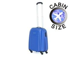Mała walizka PUCCINI ABS02 Lizbona niebieska