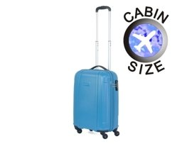 Mała walizka PUCCINI Boston PC015 C błękitna
