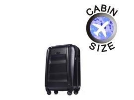 Mała walizka PUCCINI PC017 New York czarna