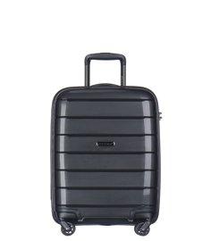 Mała walizka PUCCINI PP013 Madagaskar czarna
