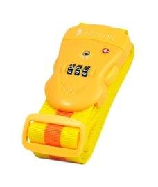 Pas do walizki z zamkiem szyfrowym PUCCINI TSA355 żółty w paski