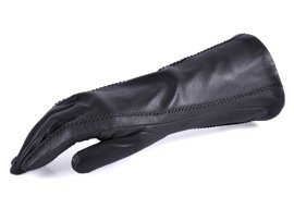 Rękawiczki damskie PUCCINI D-15122 grafitowe