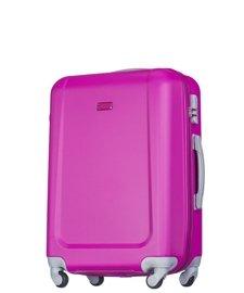 Średnia walizka PUCCINI ABS04 Ibiza różowa