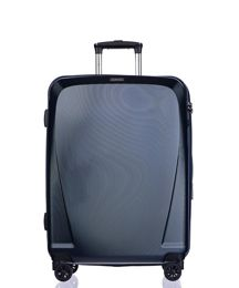Średnia walizka PUCCINI PC019 B granatowa