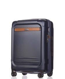 Średnia walizka PUCCINI PC020 Stockholm granatowa