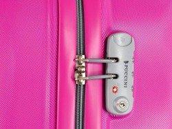 Duża walizka PUCCINI ABS01 Barcelona różowa