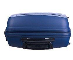 Duża walizka PUCCINI PP012 Acapulco granatowa