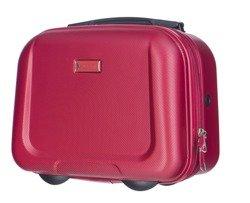 Kuferek / kosmetyczka PUCCINI ABSQM04 Ibiza czerwony