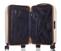 Mała walizka PUCCINI PC020 Stockholm biała