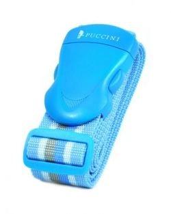 Pas zabezpieczający bagaż PUCCINI 20805 niebieski w paski