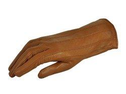 Rękawiczki damskie PUCCINI D-1500 jasny brąz